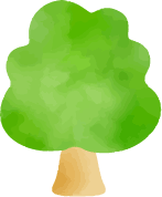 太い幹の木